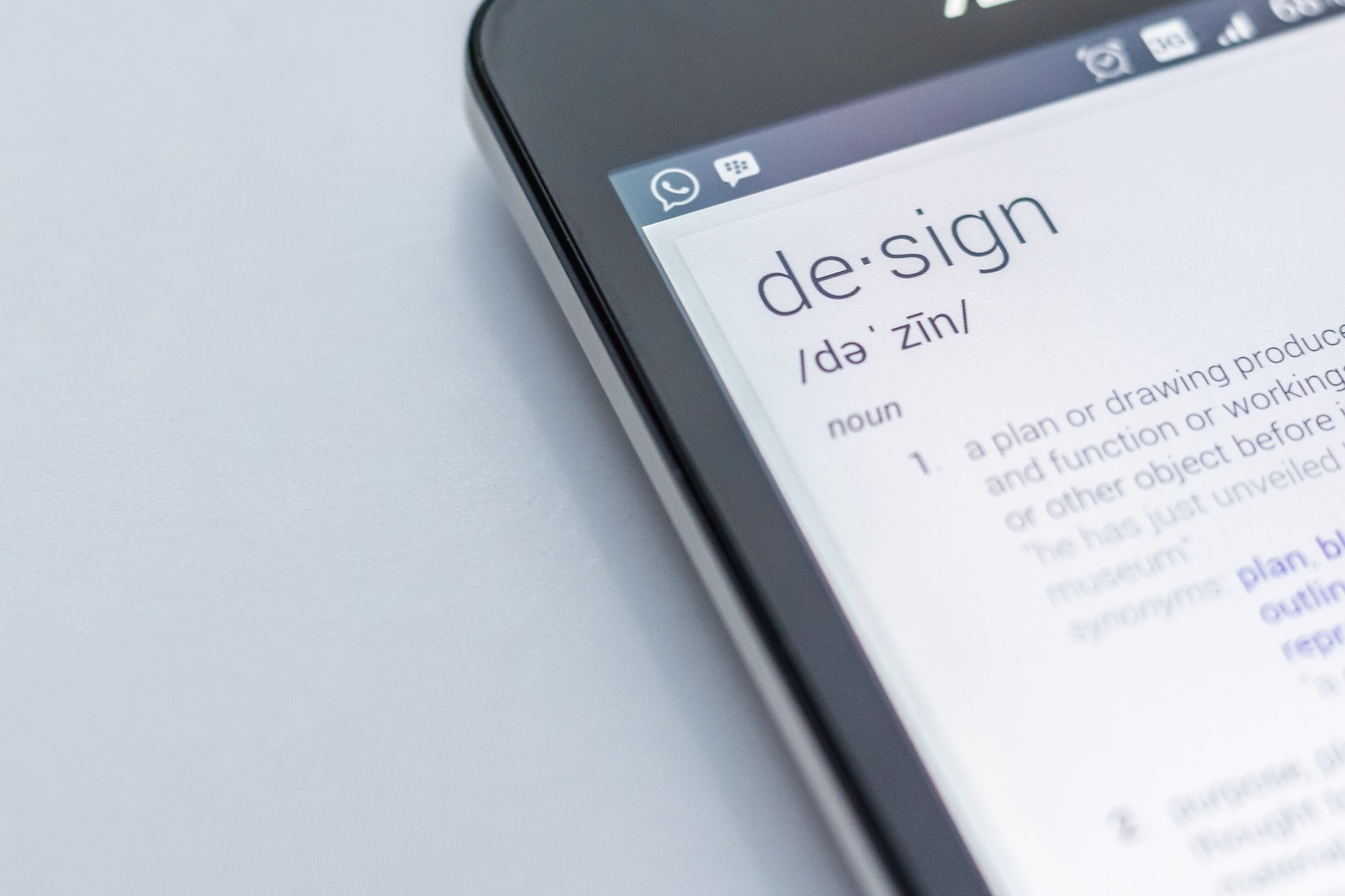 Design smartphone definition