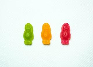 3什锦色小熊软糖