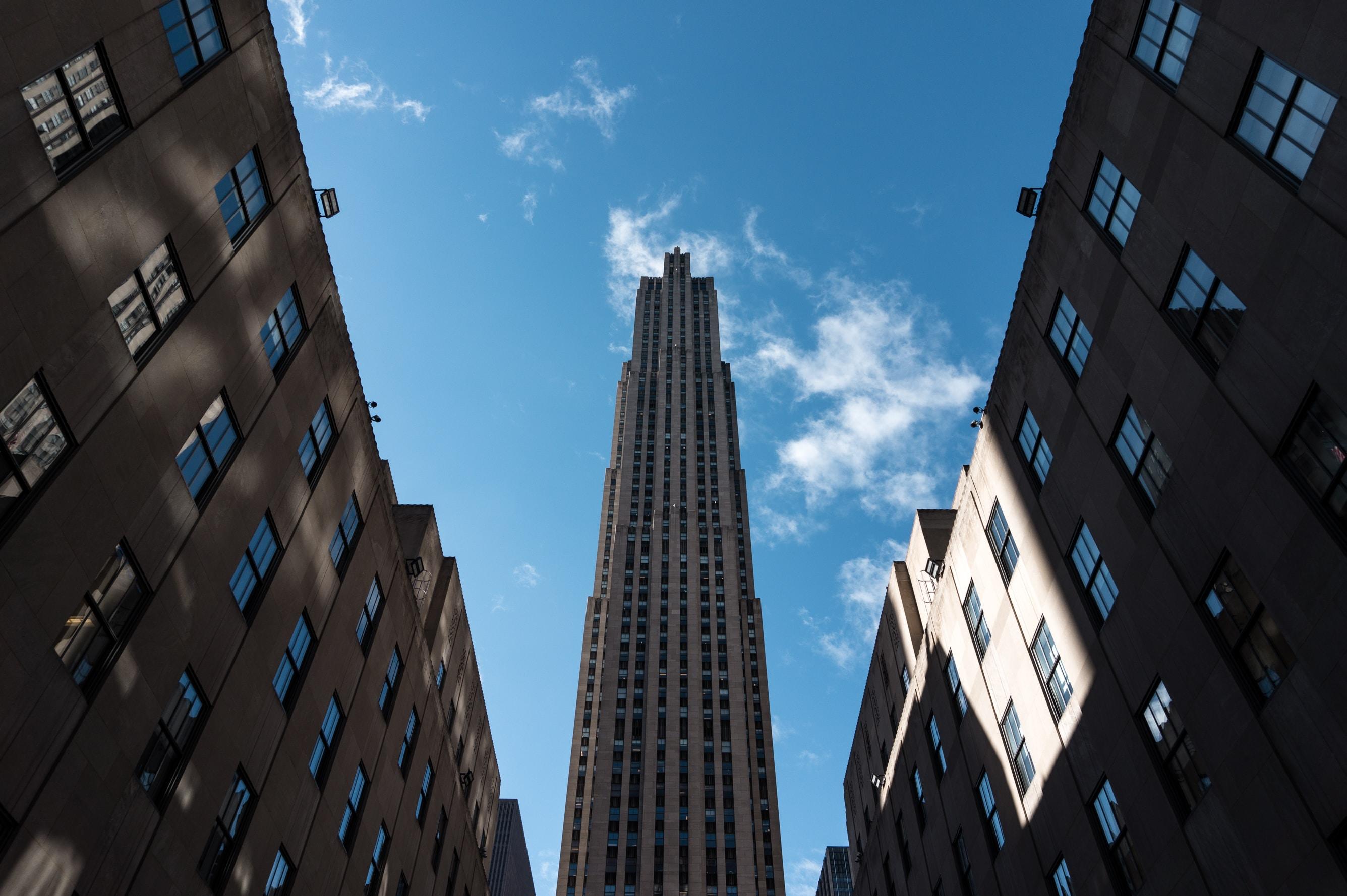 architectural photography of skyscraper