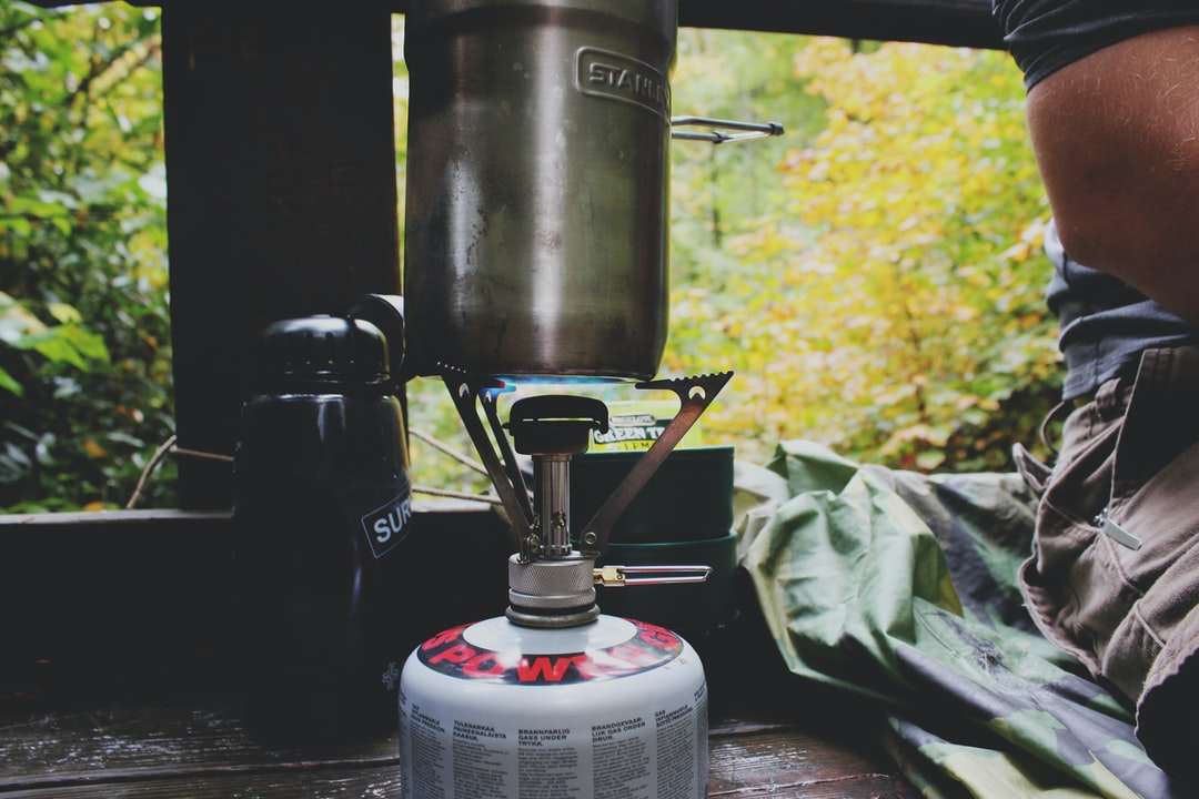 Coffee while camping