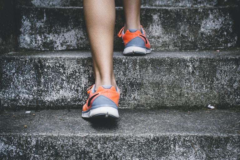 Udělejte první krok.
