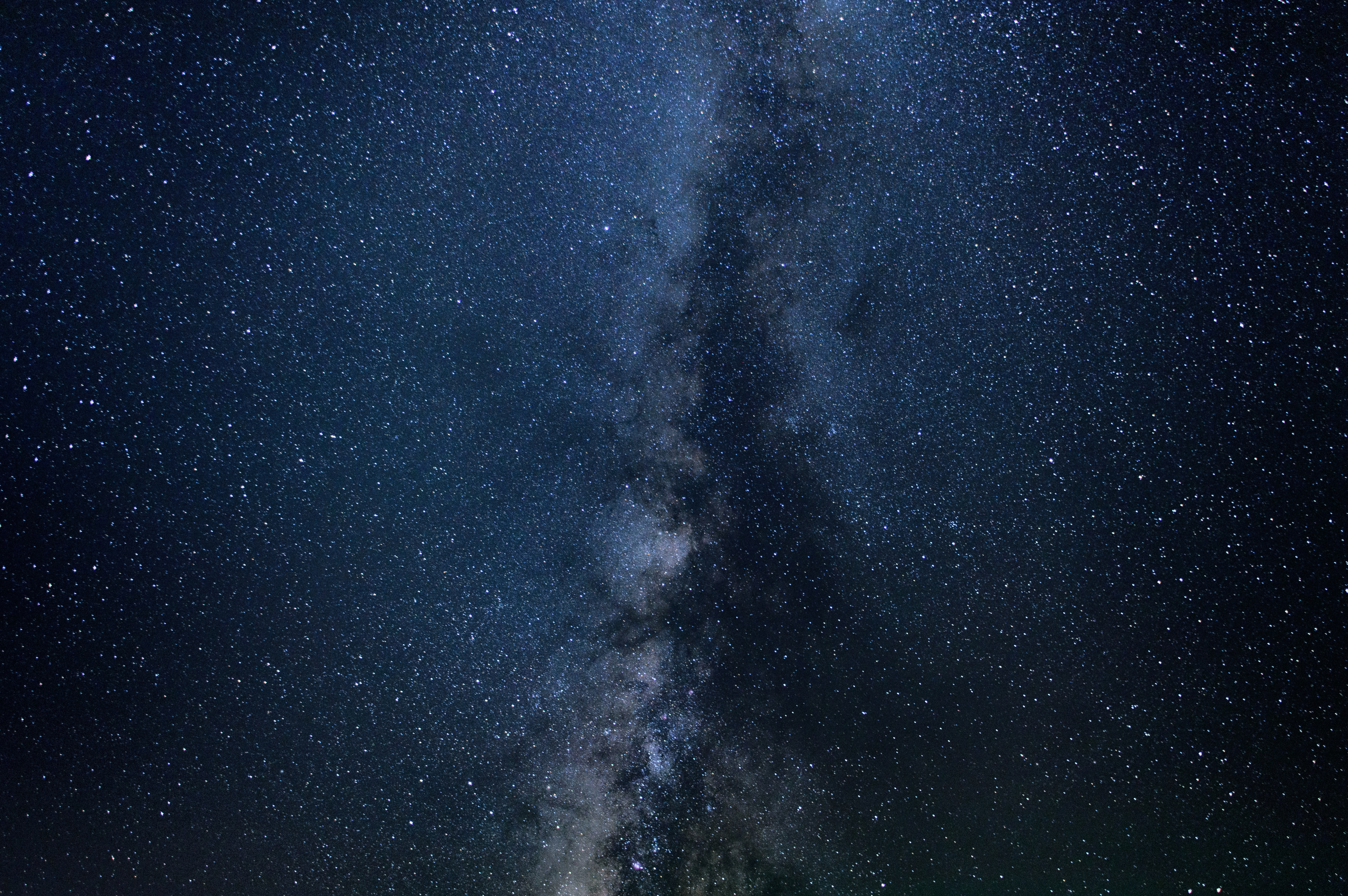 A closeup photograph of the Milky Way as seen from Silverthorne.