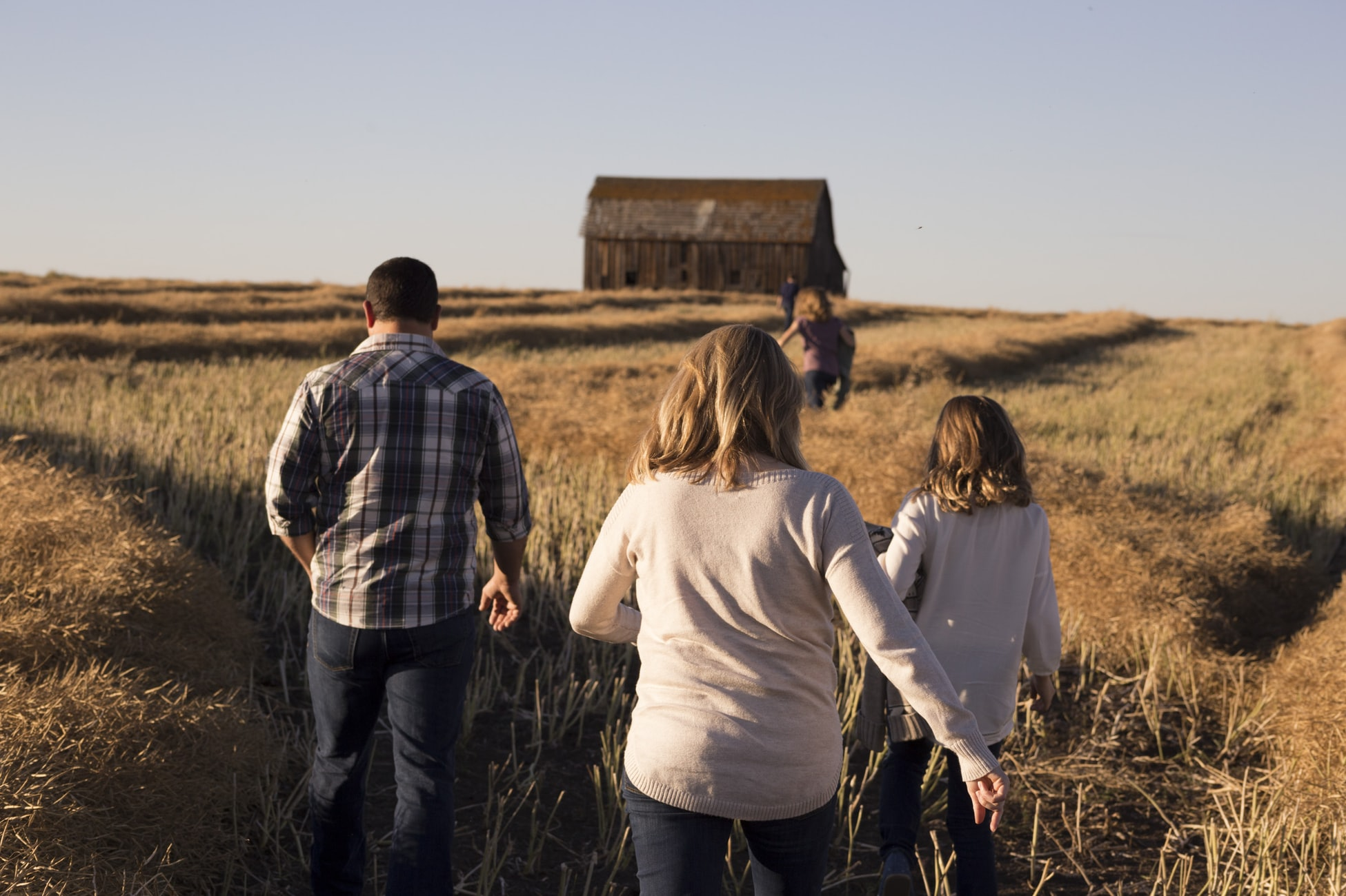 A family following its tradition - getting to know you questions
