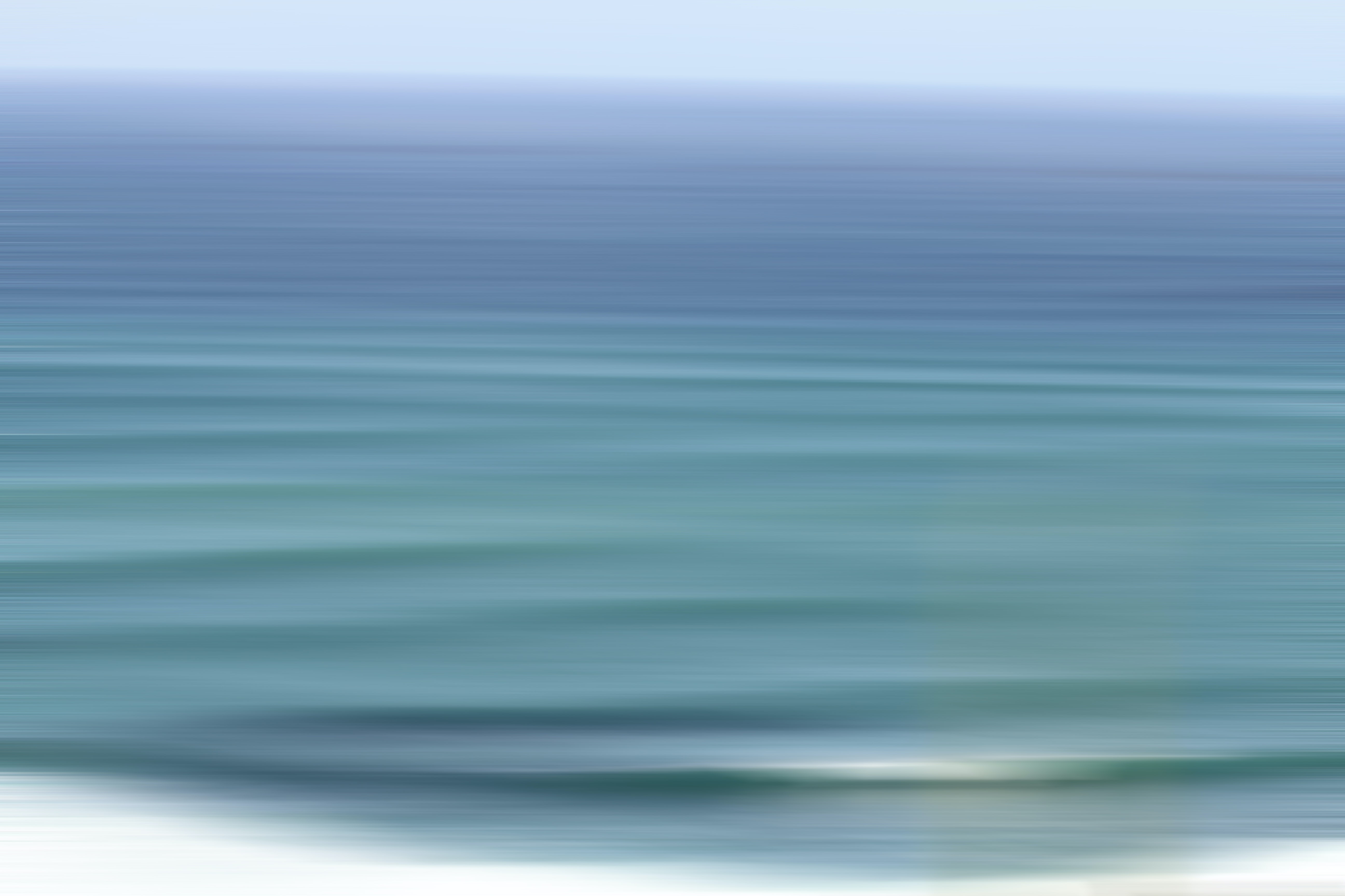A blurred ocean picture.