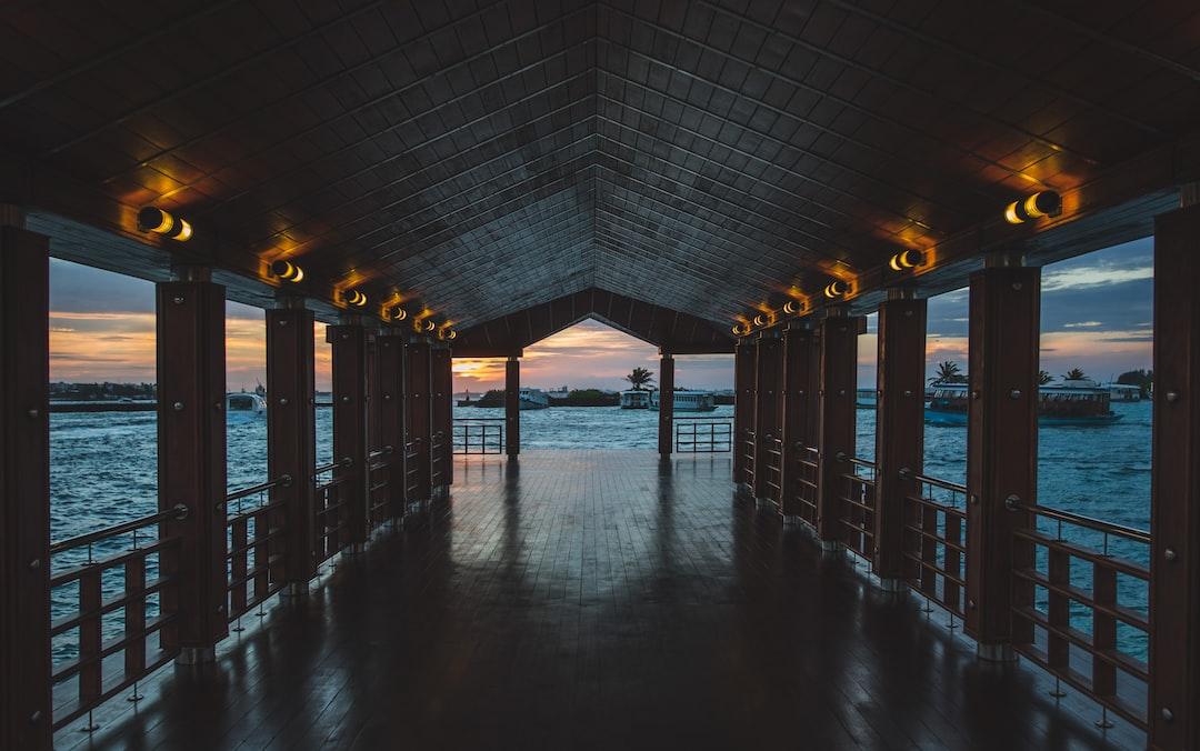 Wooden floor pier