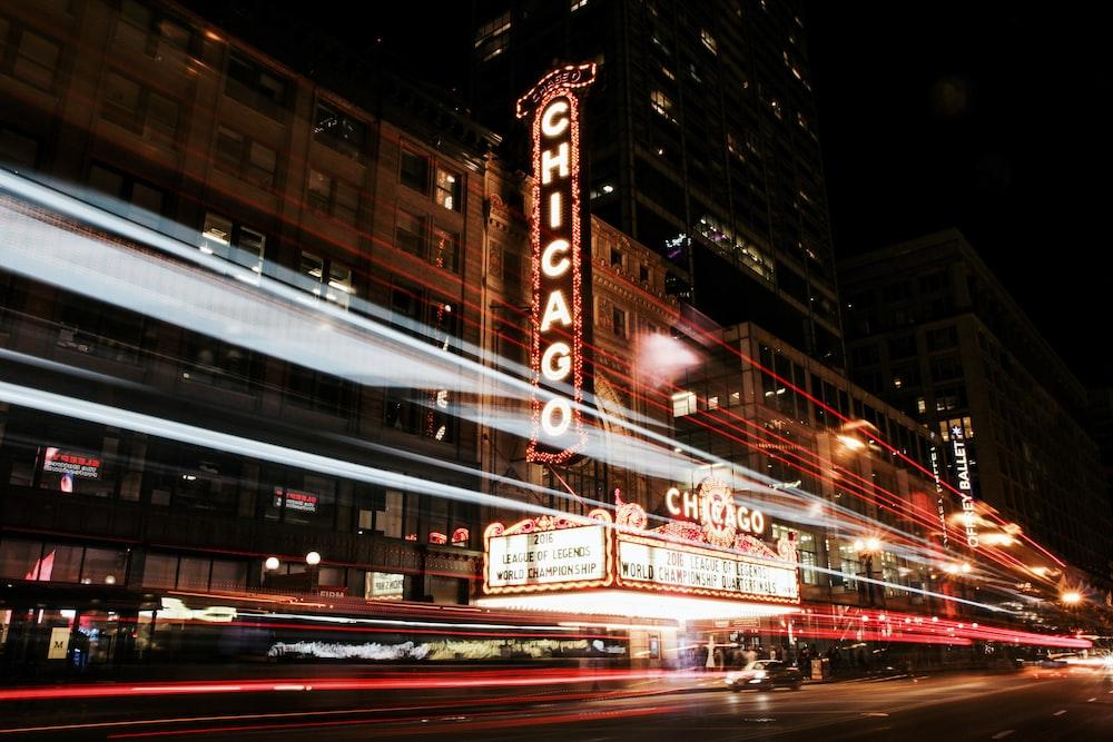 Chicago LED sign