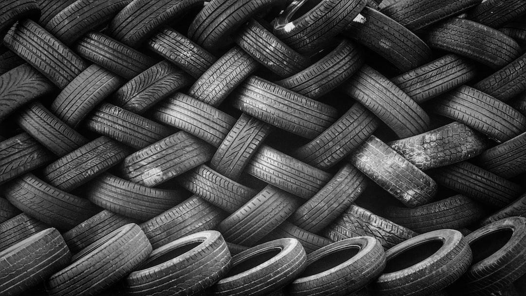 Black tire pattern