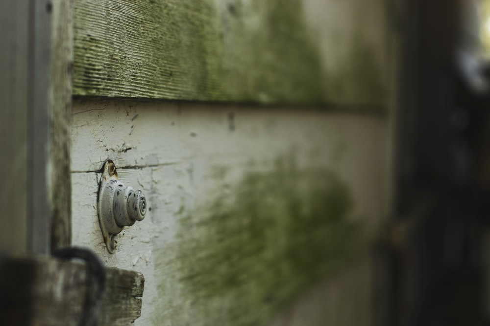 selective focus photo of white wooden top