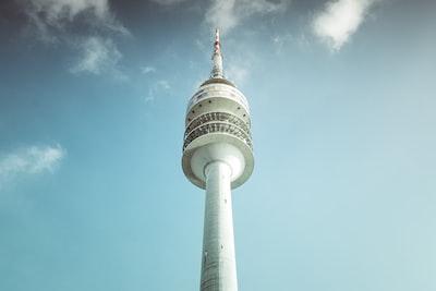 landscape photography fo white concrete tower