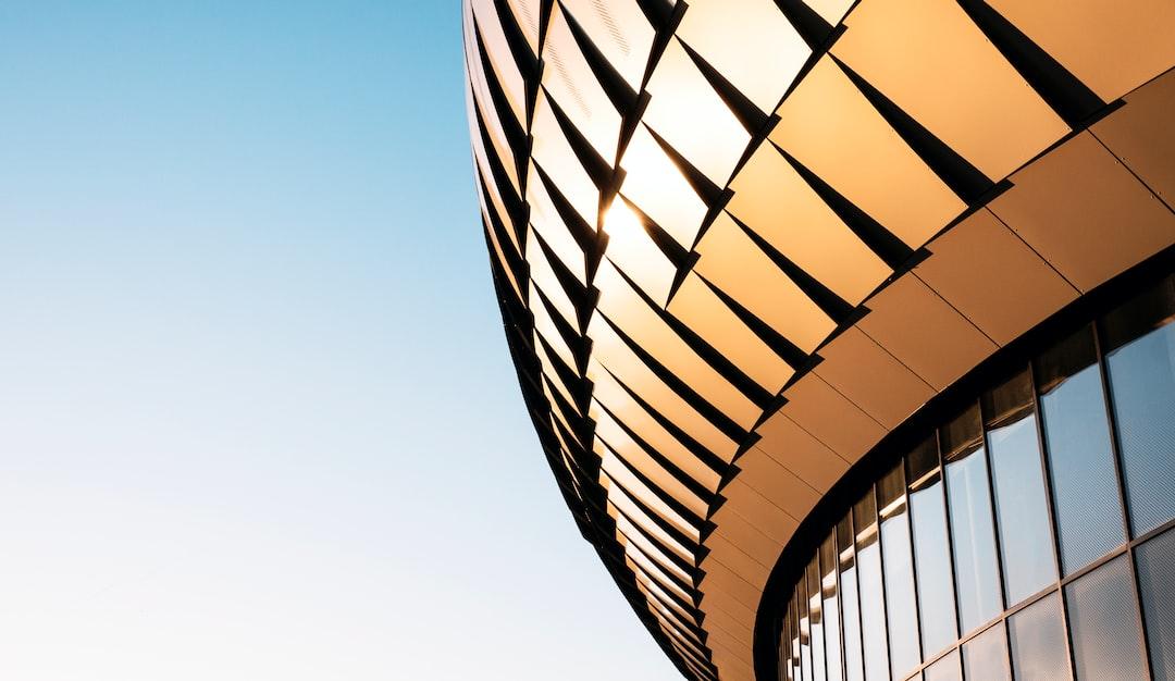 Sunlight in a modern facade