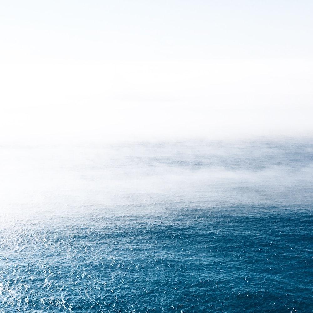 blue calm ocean