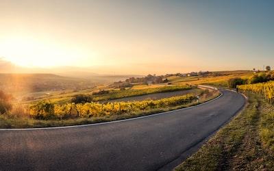 landscape photo of asphalt road road zoom background