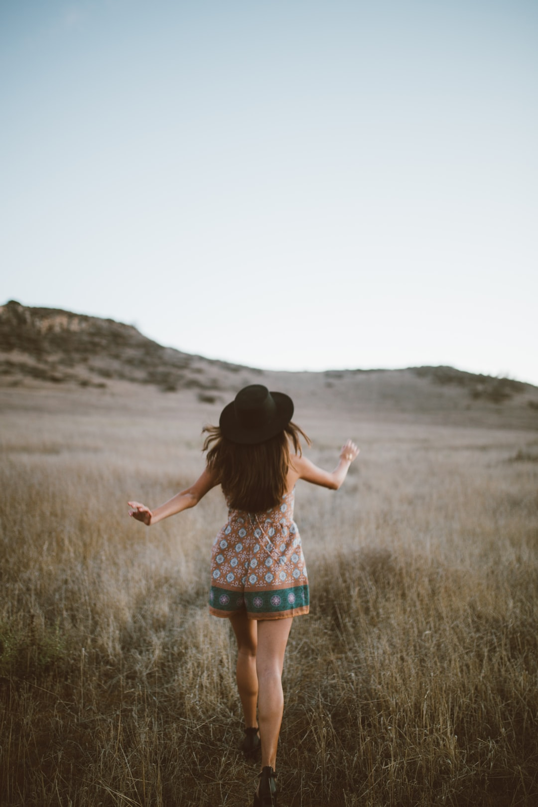 Fashion Romper Hat And Woman Hd Photo By Clarisse Meyer