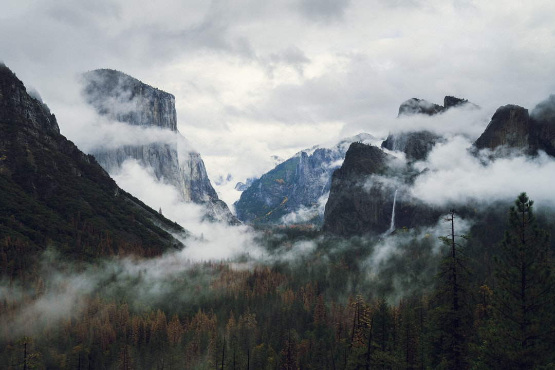 Fog and clouds in Yosemite