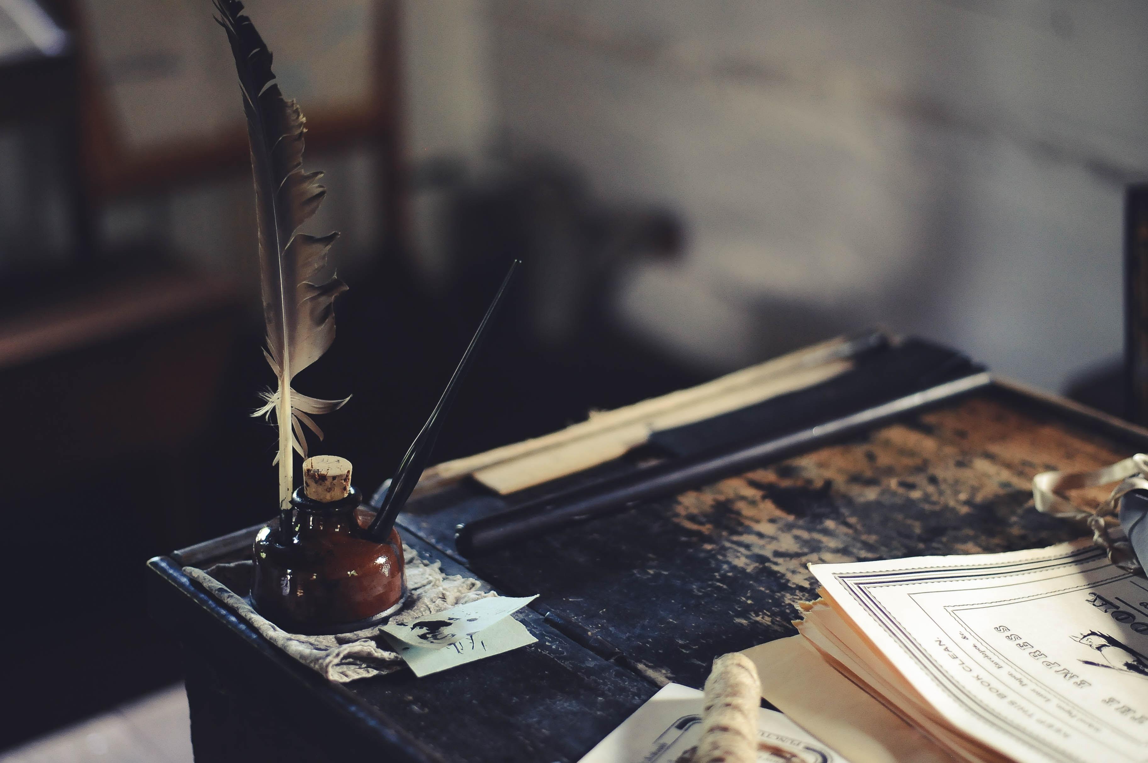 Ink. poem stories