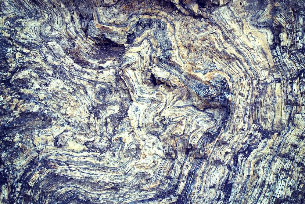 aerial photo of soil