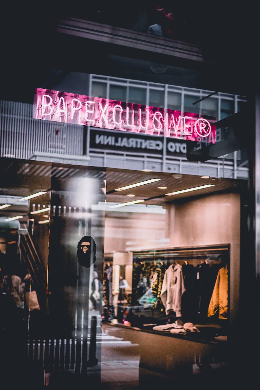Bapexclusive storefront photo