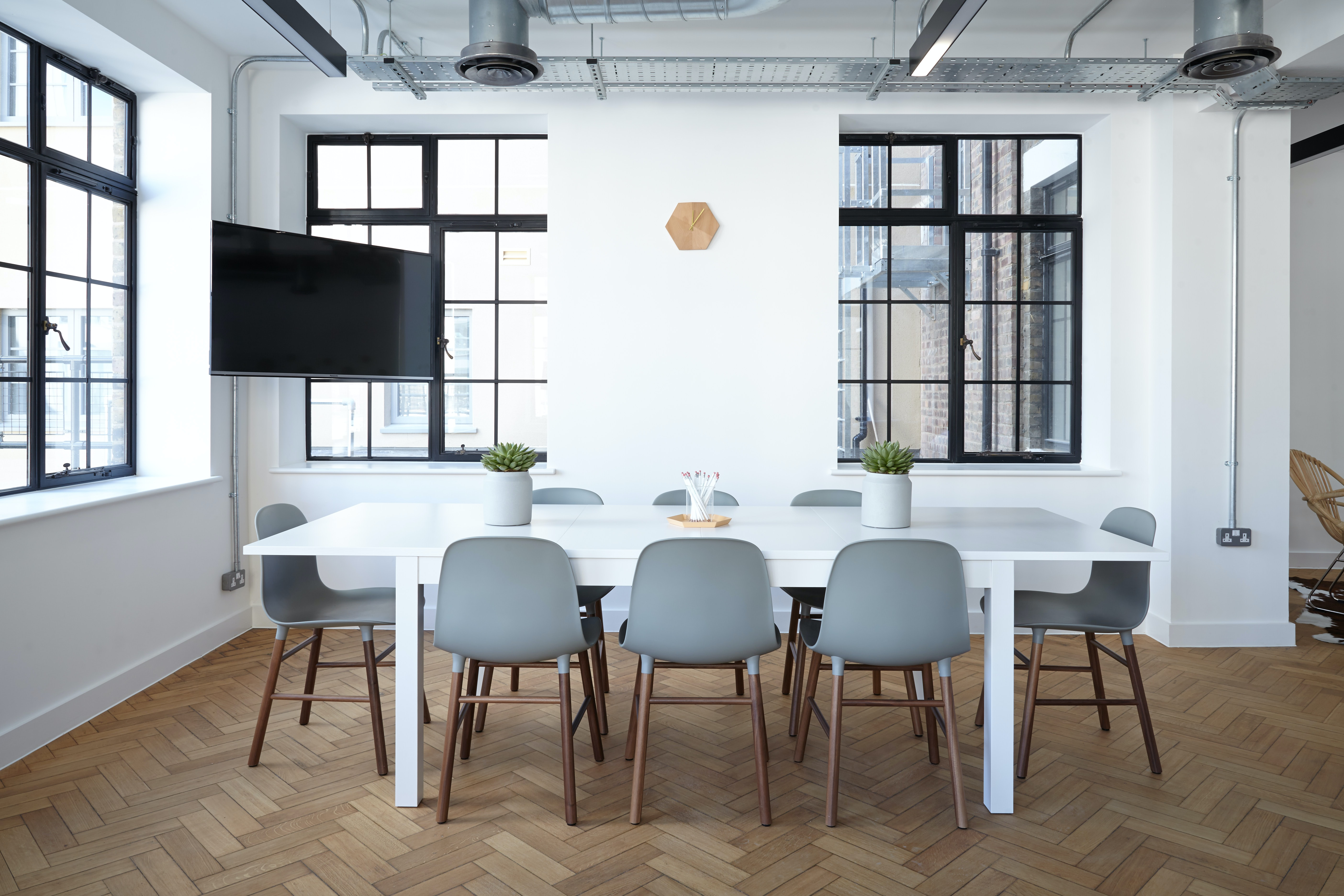 Table, desk, chair, office space and workspace HD photo by ...