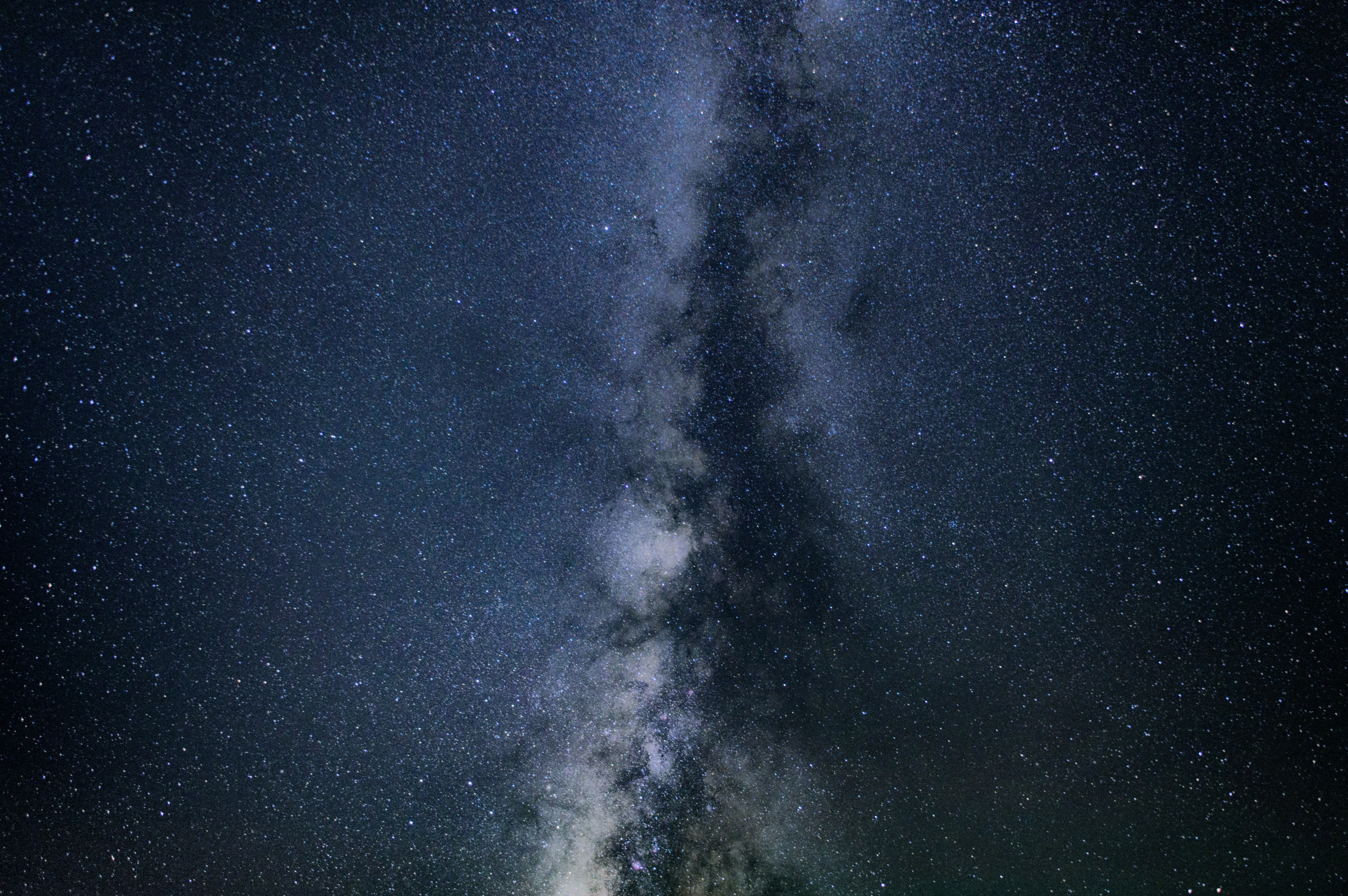 Shot of the stars and clouds from Silverthorne