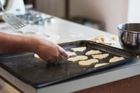 My mother and I have a tradition of baking all of our Christmas cookies over Thanksgiving weekend. We make at least ten different kinds, and it takes three days. It's a lot of work, and we end up exhausted very year, but it's something I always look forward to.