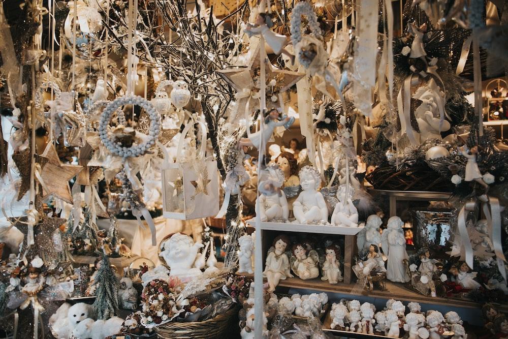 assorted figurine lot