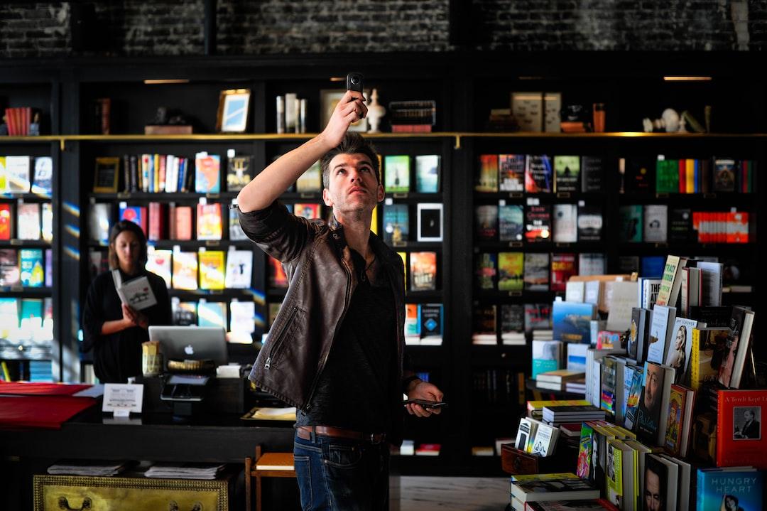 360 Photo in Bookstore