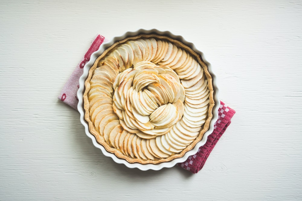 pastries on white ceramic bowl