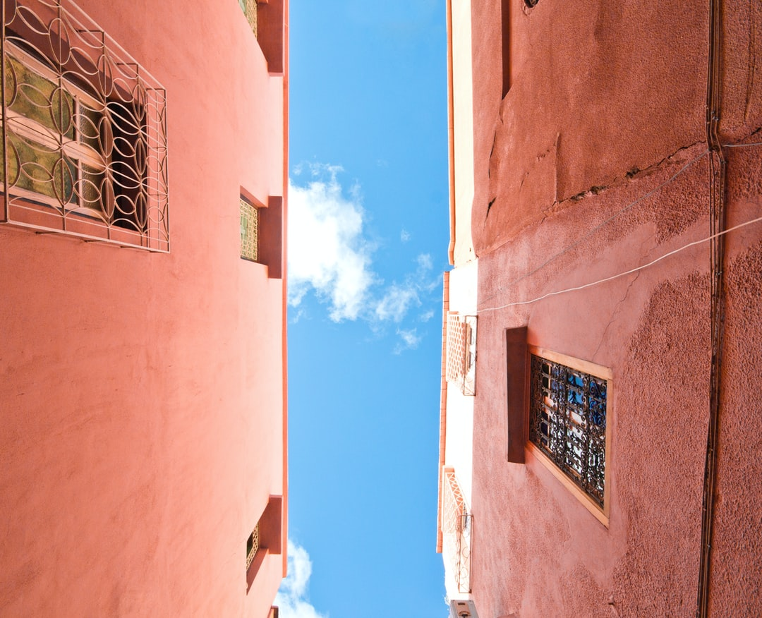 Flew to Fez. Got lost. Looked up. Snapped and capped. Followed the sky back to our Riad.