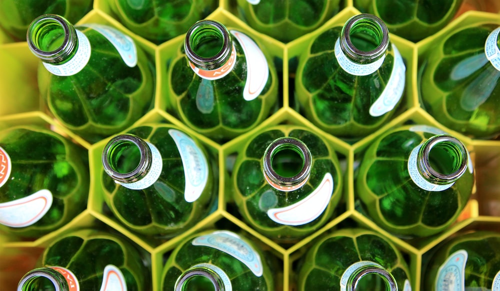 green bottle lot