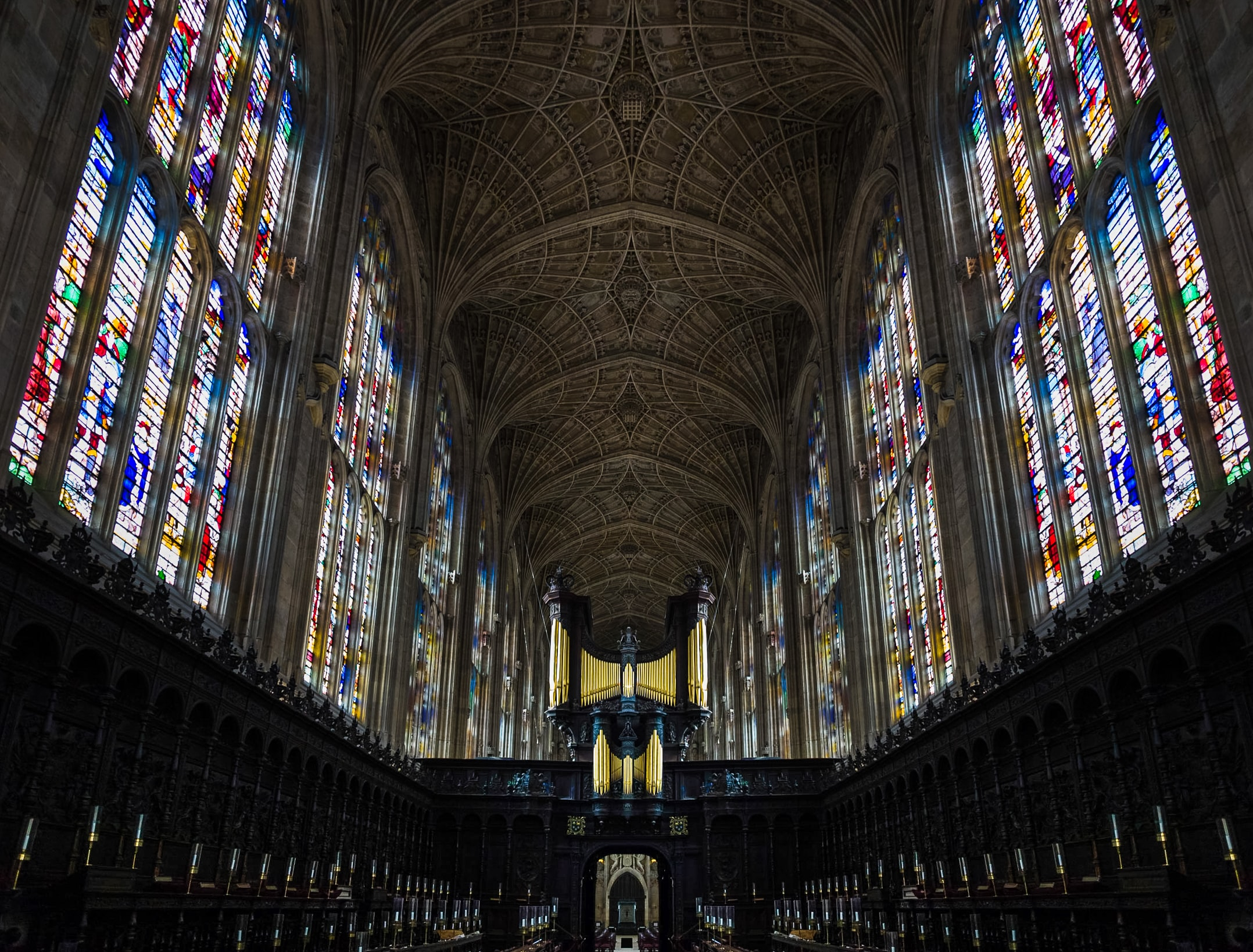 gray cathedral