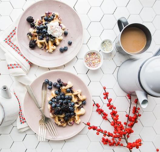 Gofres y tortitas creativas para desayunar