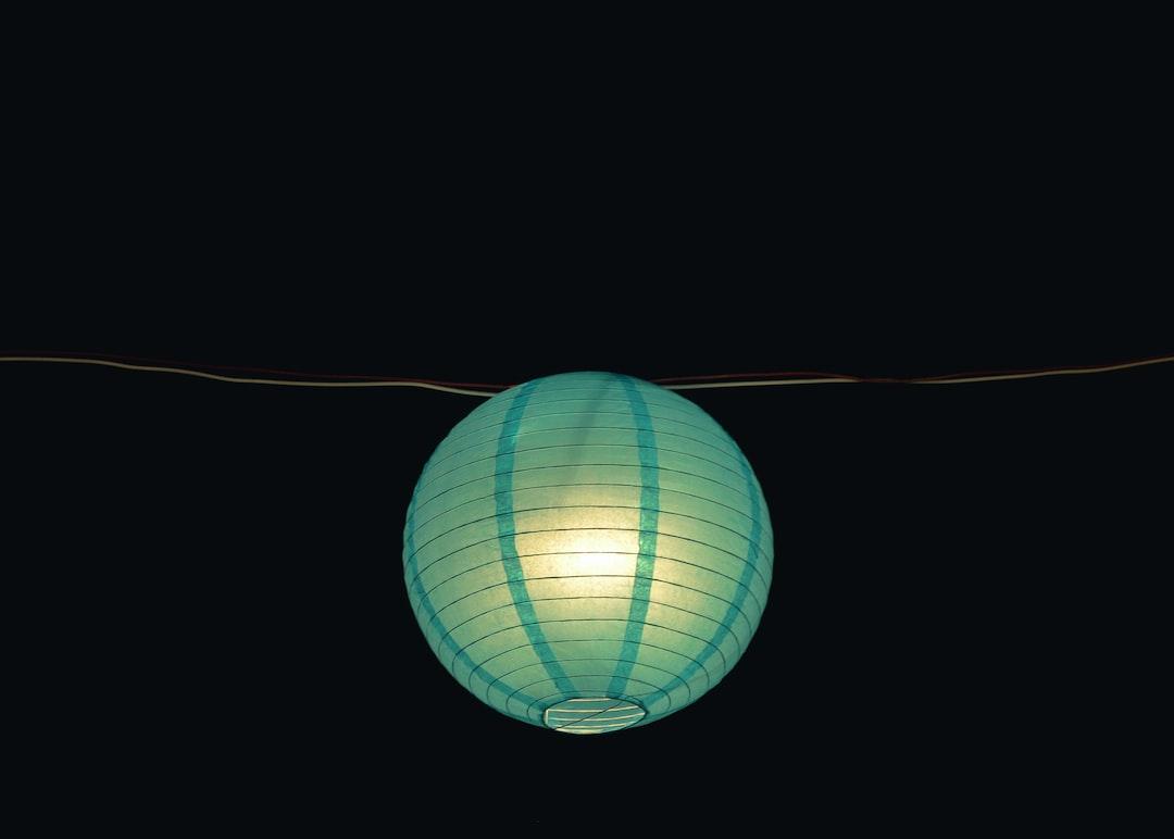 LED Lampions papier
