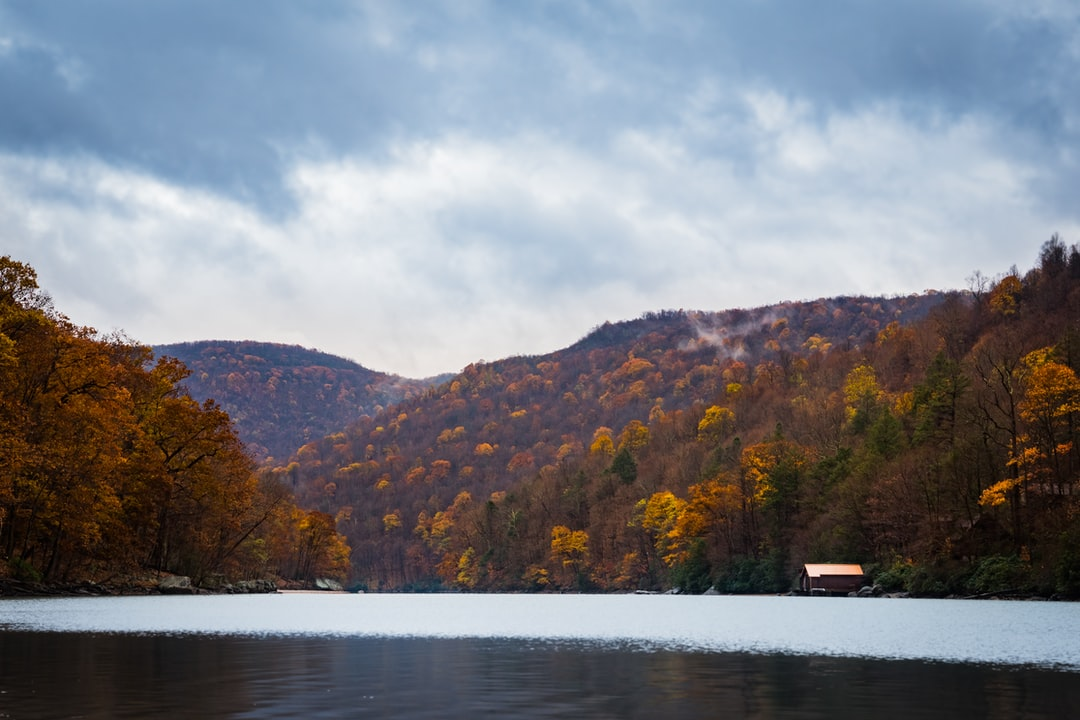 Cheat Lake in the winter