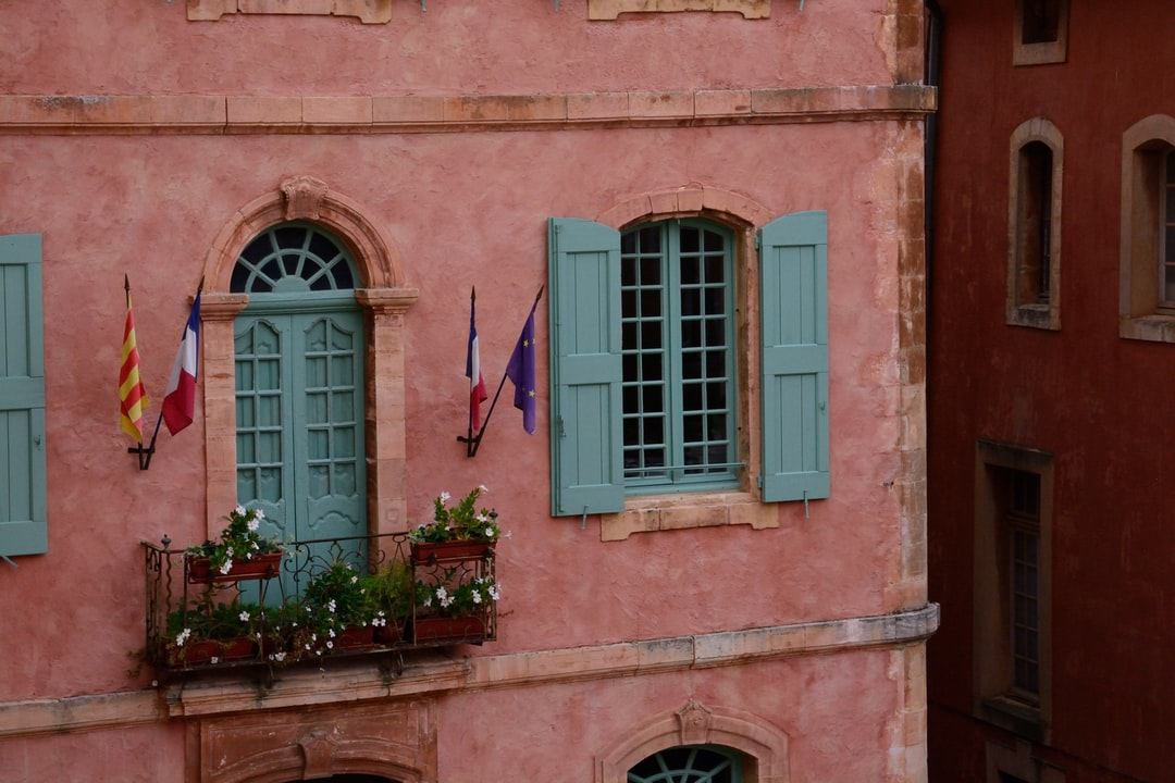 Old house in Roussillon