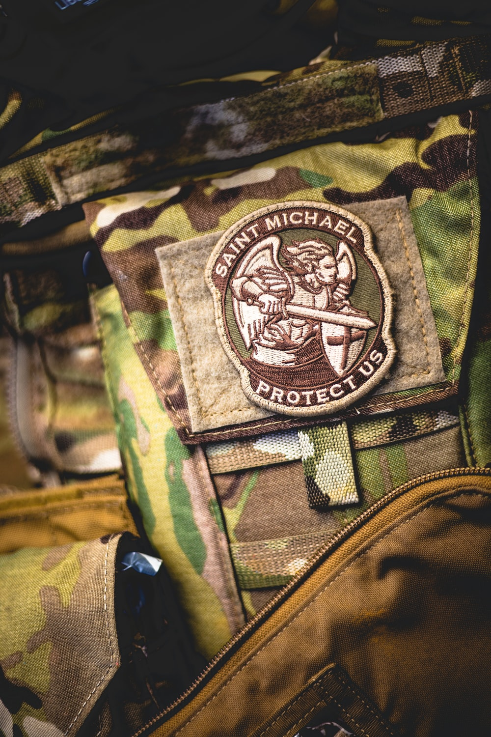 St  michael patch | HD photo by Thomas Tucker (@tents_and_tread) on