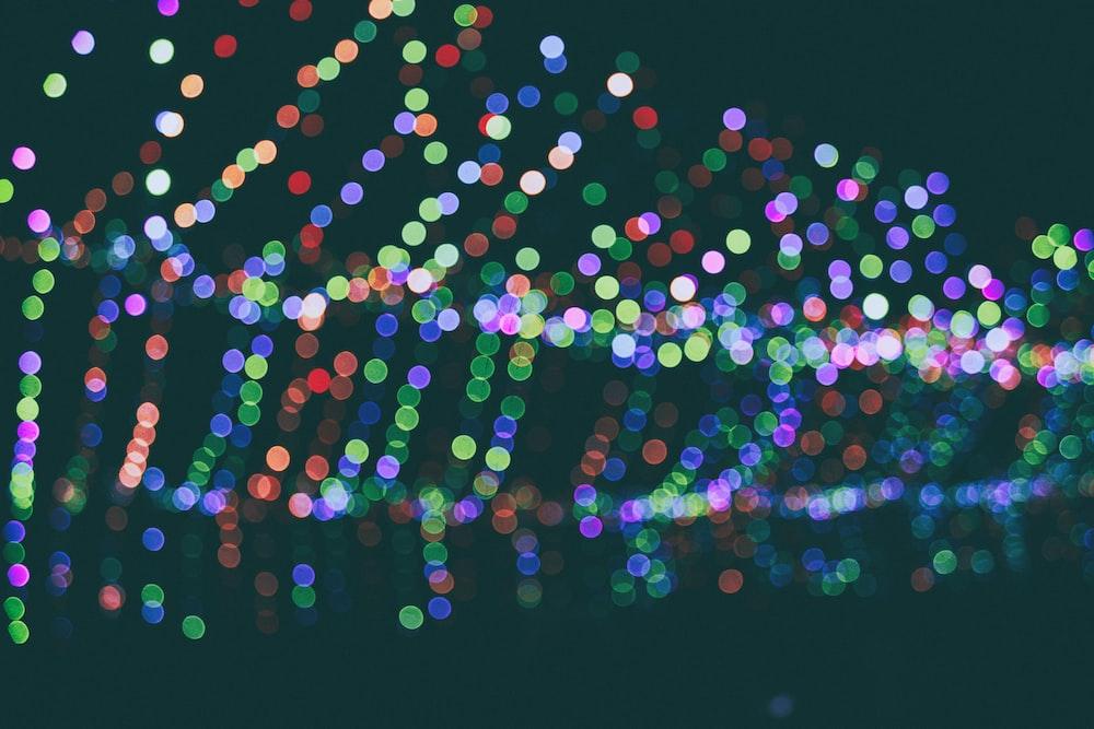 bokeh light photography