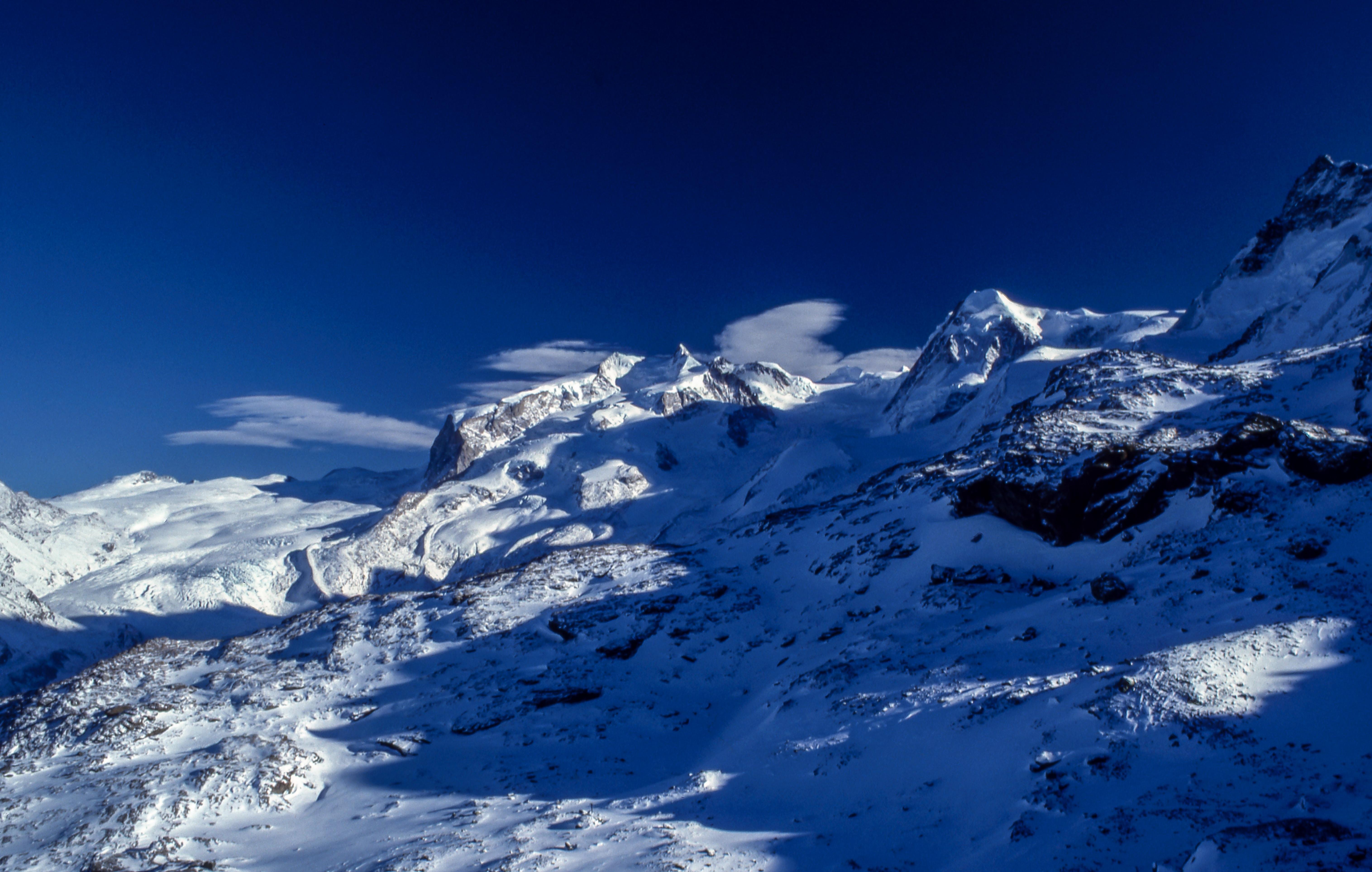 icy mountain photo