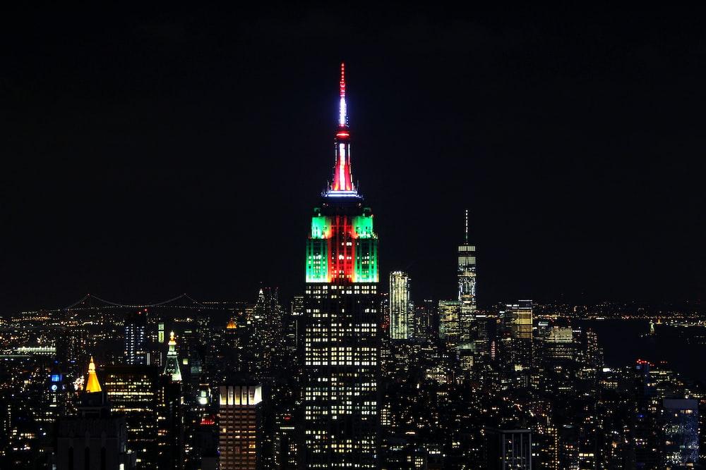 Empire State Building, New York cityscape