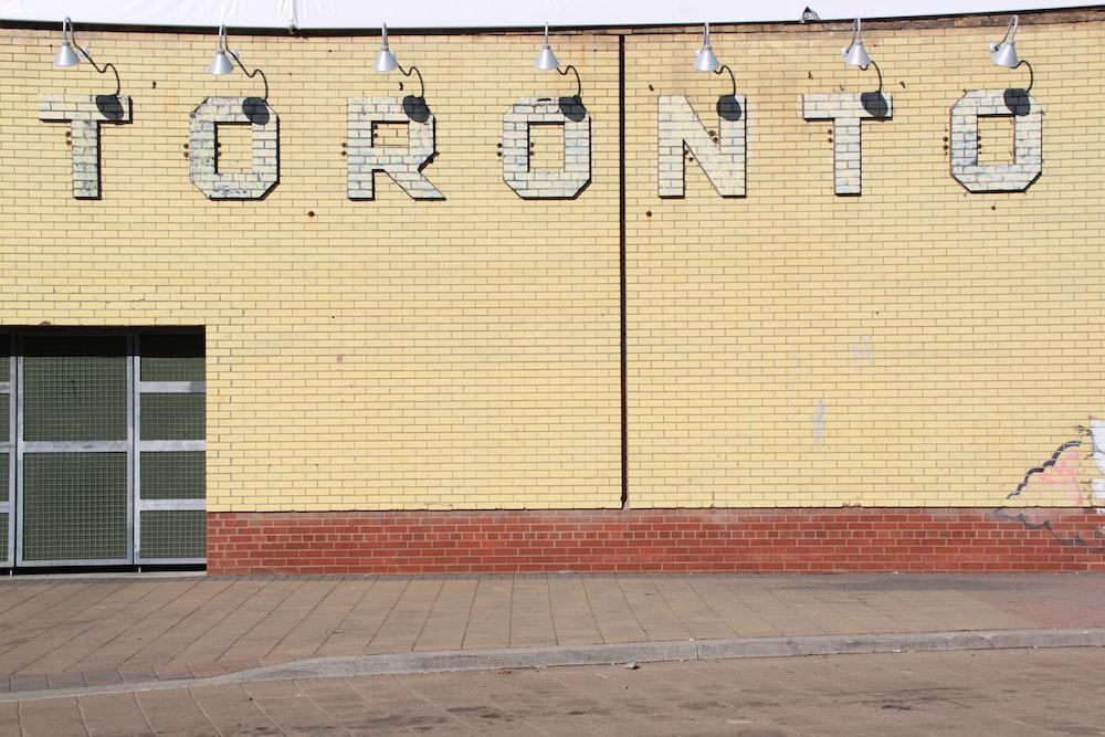 Toronto concrete building