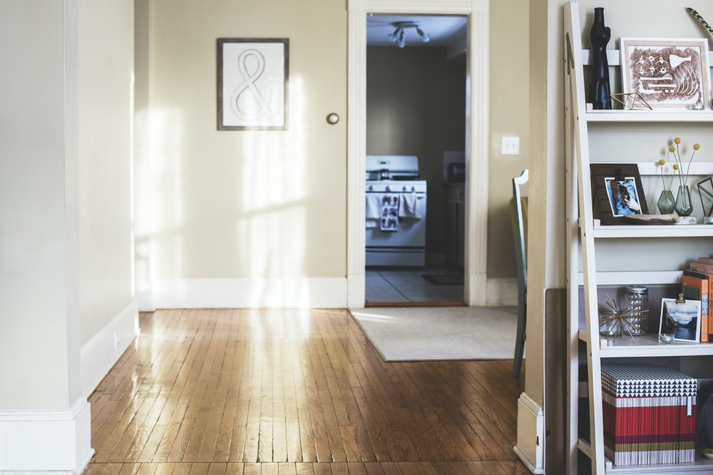 photo of white painted room