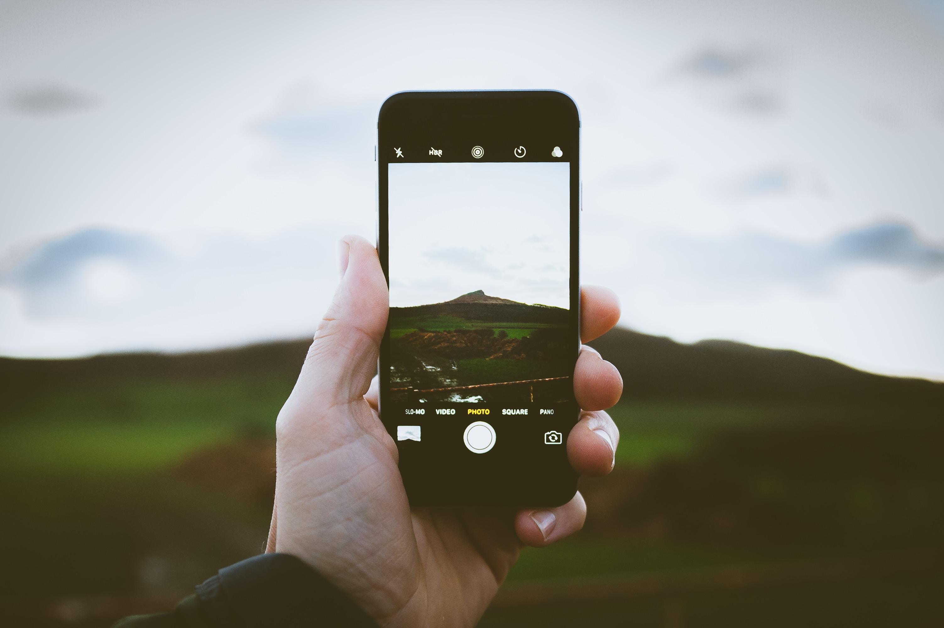 screengrab photography of mountain