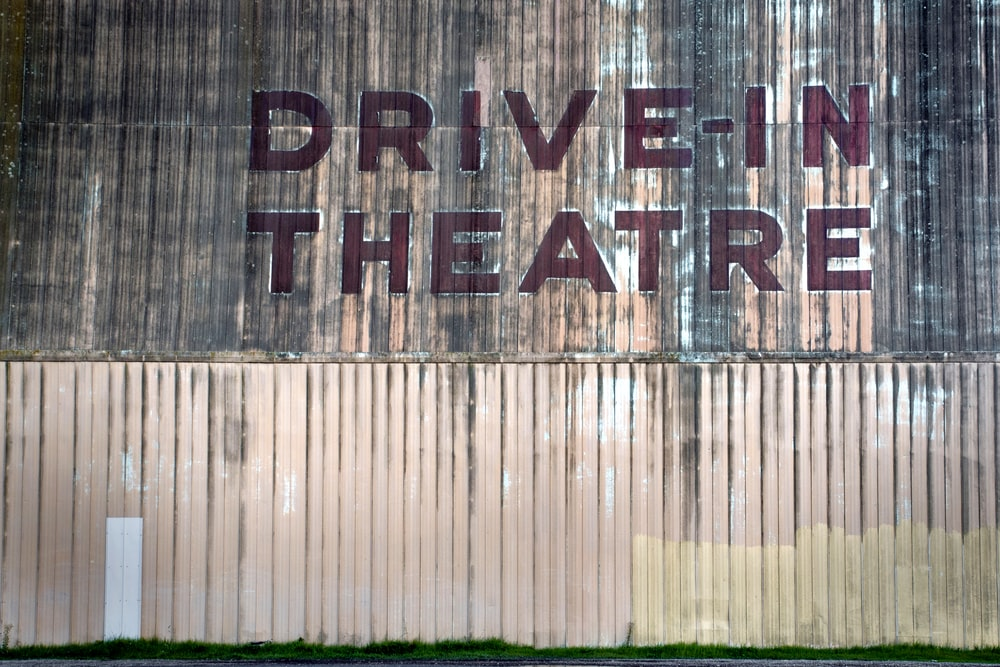 Drive-In Theatre signage non wall