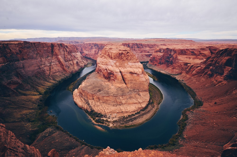 Horseshoe Bend during daytime