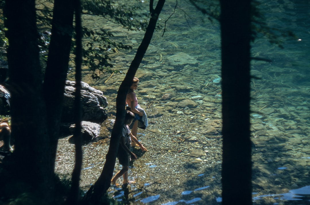 When I saw this photo for the first time, I thought of adventuring through the woods and ending the day with a refreshing dip. I'm not sure how or where this photo was taken, unfortunately. I like to imagine it was a pretty nice day though.