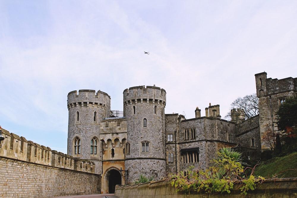gray concrete castle at daytime