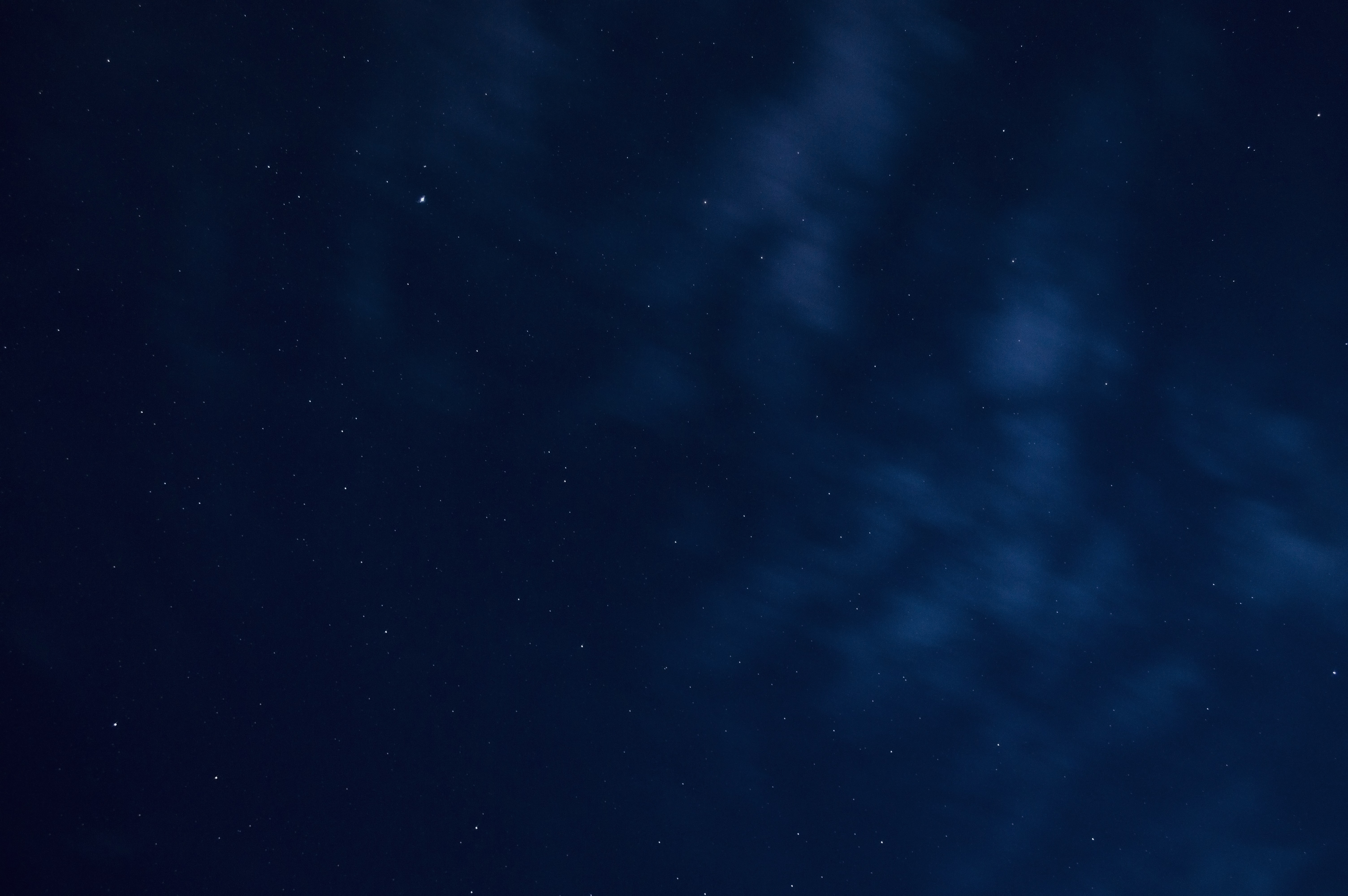 A view of the night showing stars