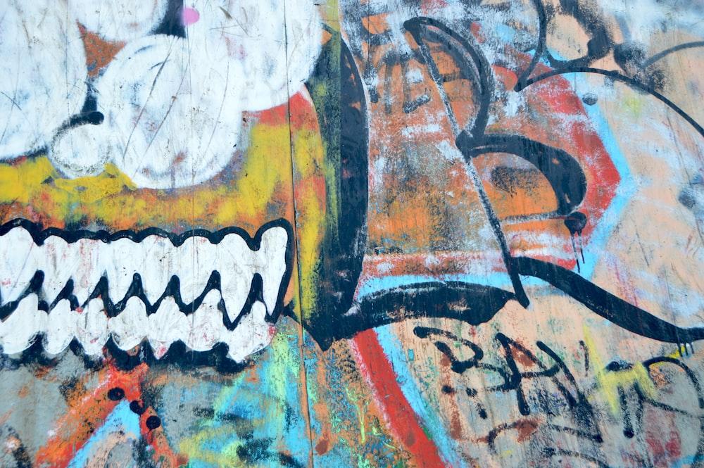 graffiti painting on wall