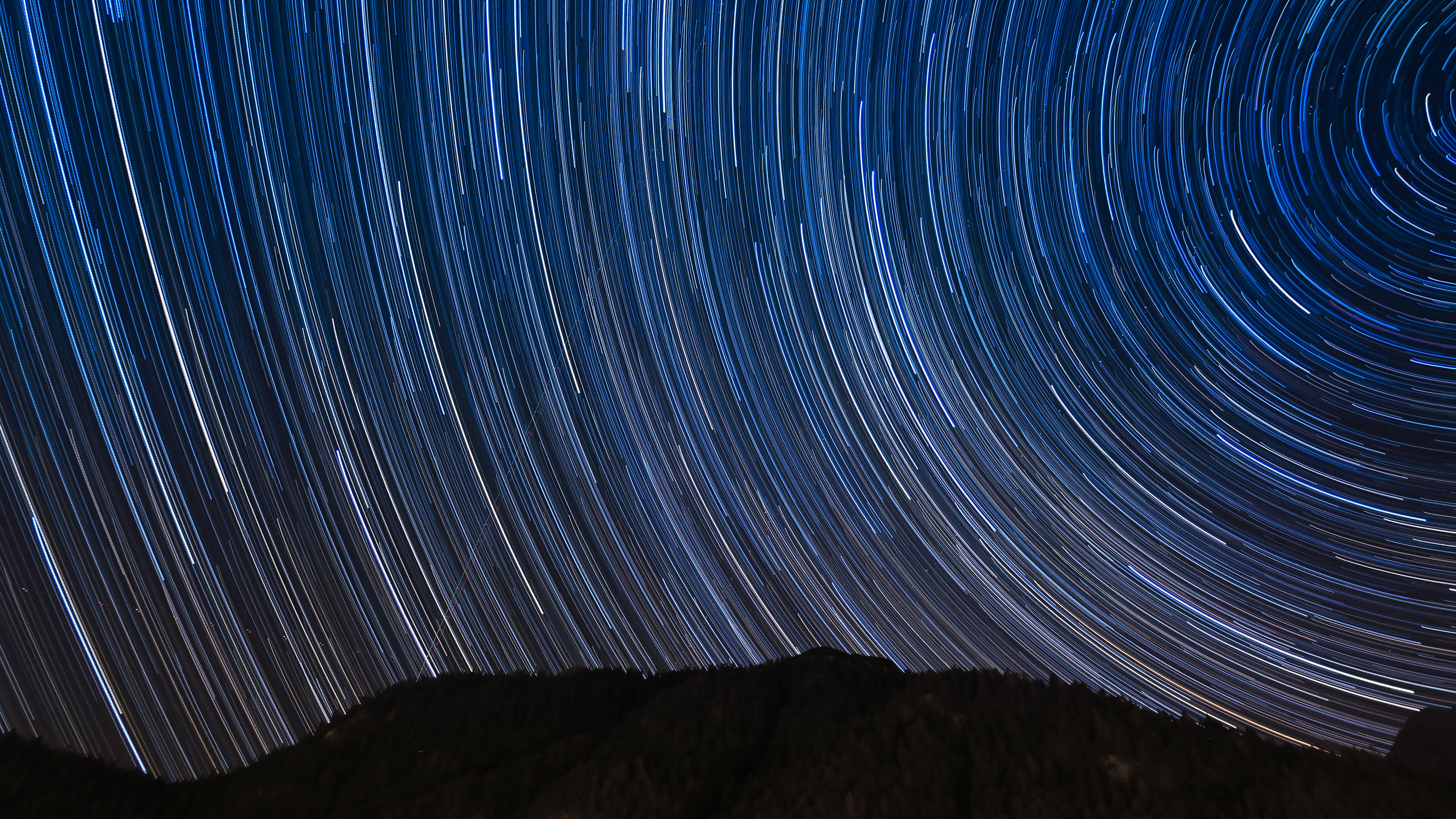 An astronomy timelapse shot in Leutasch of a starry night sky