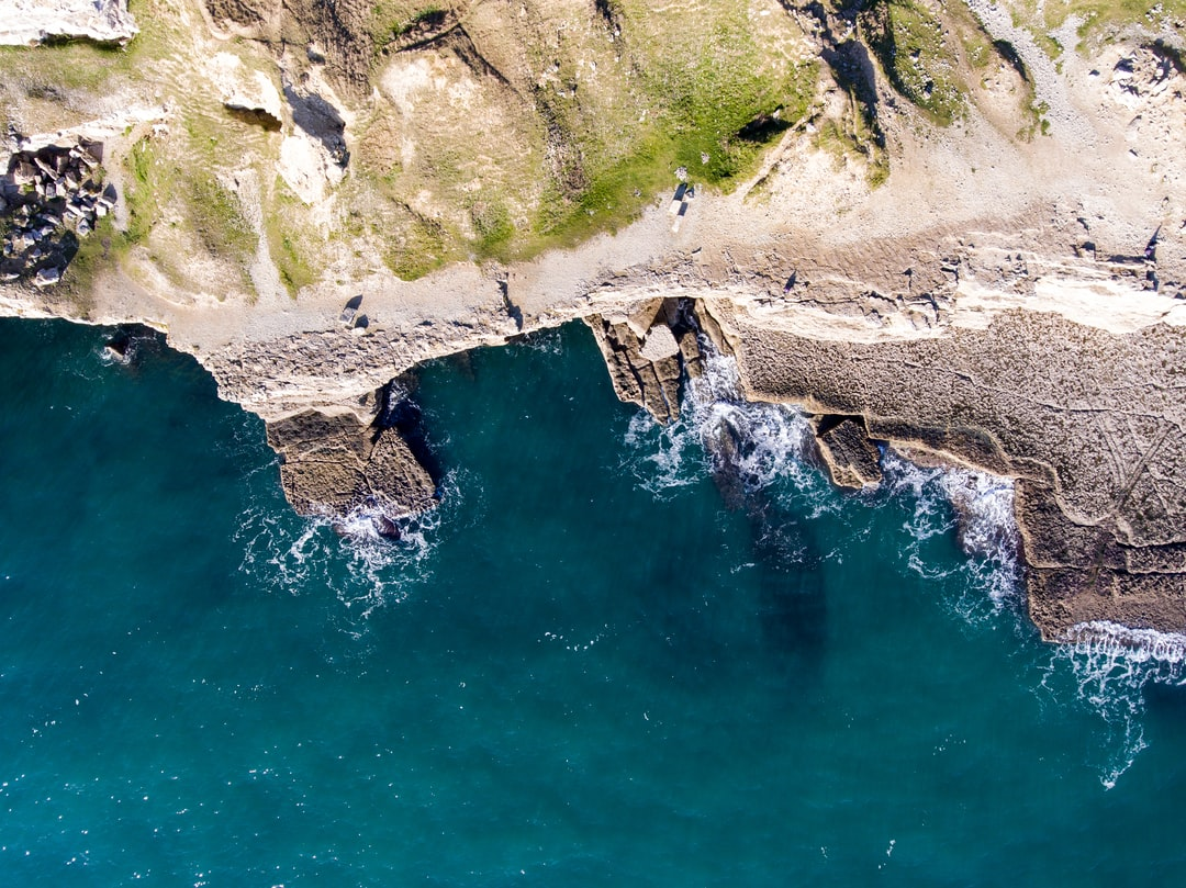 Dancing Ledge From Above
