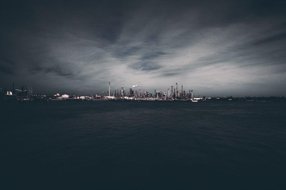 skyscrapercity under gray skies